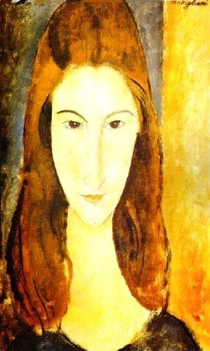 Amedeo Modigliani - Portrait Of Jeanne Hebuterne Ii