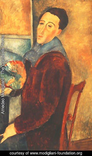 Amedeo Modigliani - Self Portrait